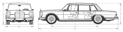 Кола Mercedes 600 5.