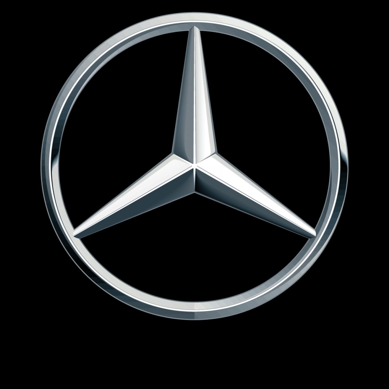 Mercedes Benz Logo Emblem Vector.