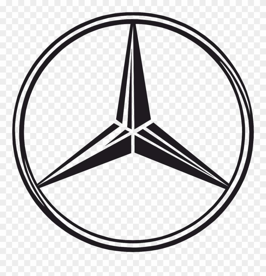 Mercedes Benz Stern Clipart.