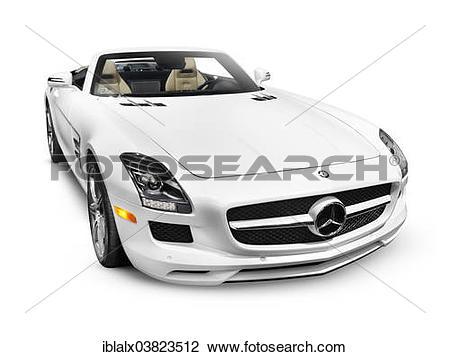 Stock Photo of 2012 Mercedes.