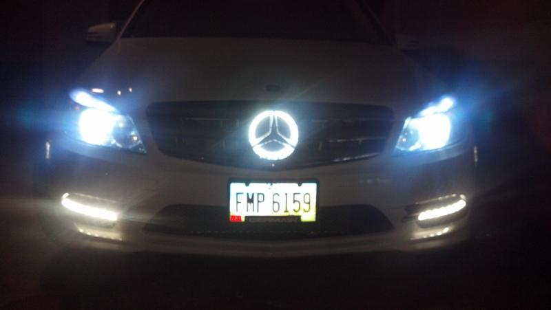 Custom Illuminated Grill Emblem.