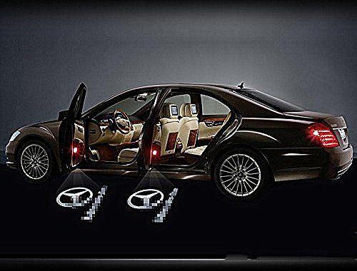 Mercedes Benz Door Light Mercedes Benz Logo Door Light 2 Pcs.