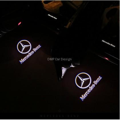 Mercedes BENZ Car Door Welcome 3D Logo Light W212 W205 Auto LED Laser  Projector Lamp.