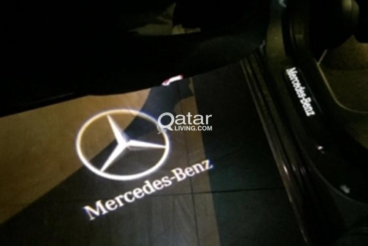 Mercedes Benz logo light.