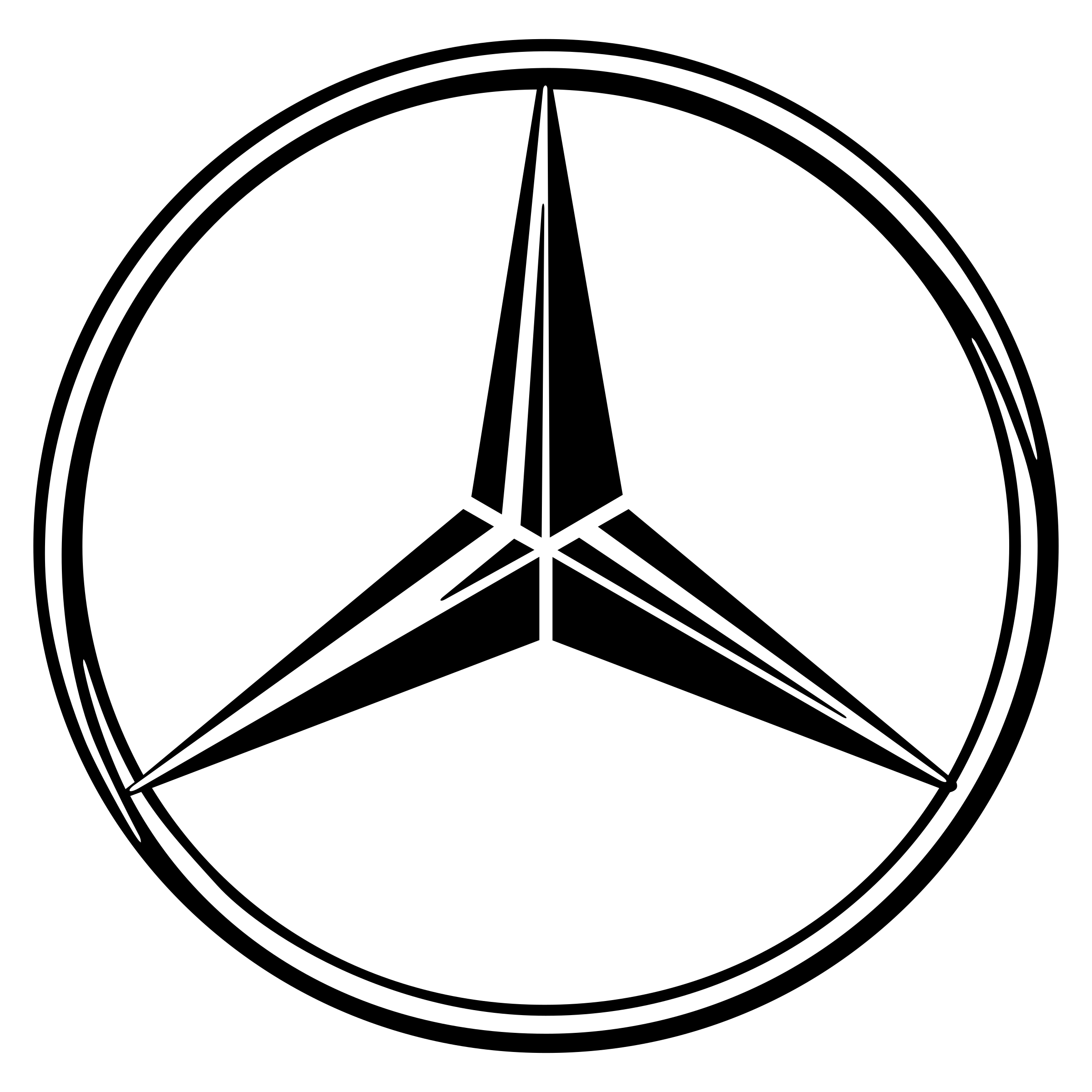 Mercedes Logo PNG Transparent & SVG Vector.