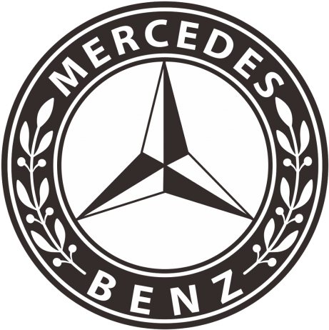 Mercedes Benz Clipart Black And White.