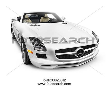Mercedes benz sls clipart.