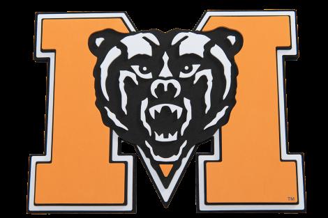 Mercer University Bears 3D Logo Fan Foam.