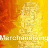 Clip Art of Merchandising background concept k6158702.