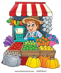 Clipart Of Merchants.