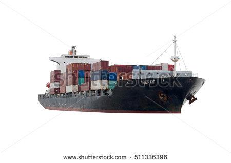 Cargo Ship Stock Photos, Royalty.