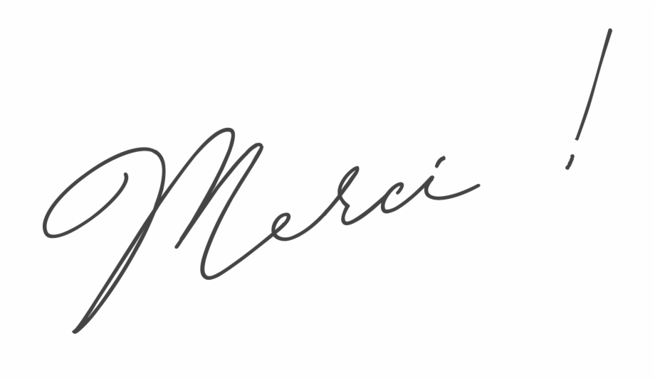 Merci Signature Free PNG Images & Clipart Download #889936.