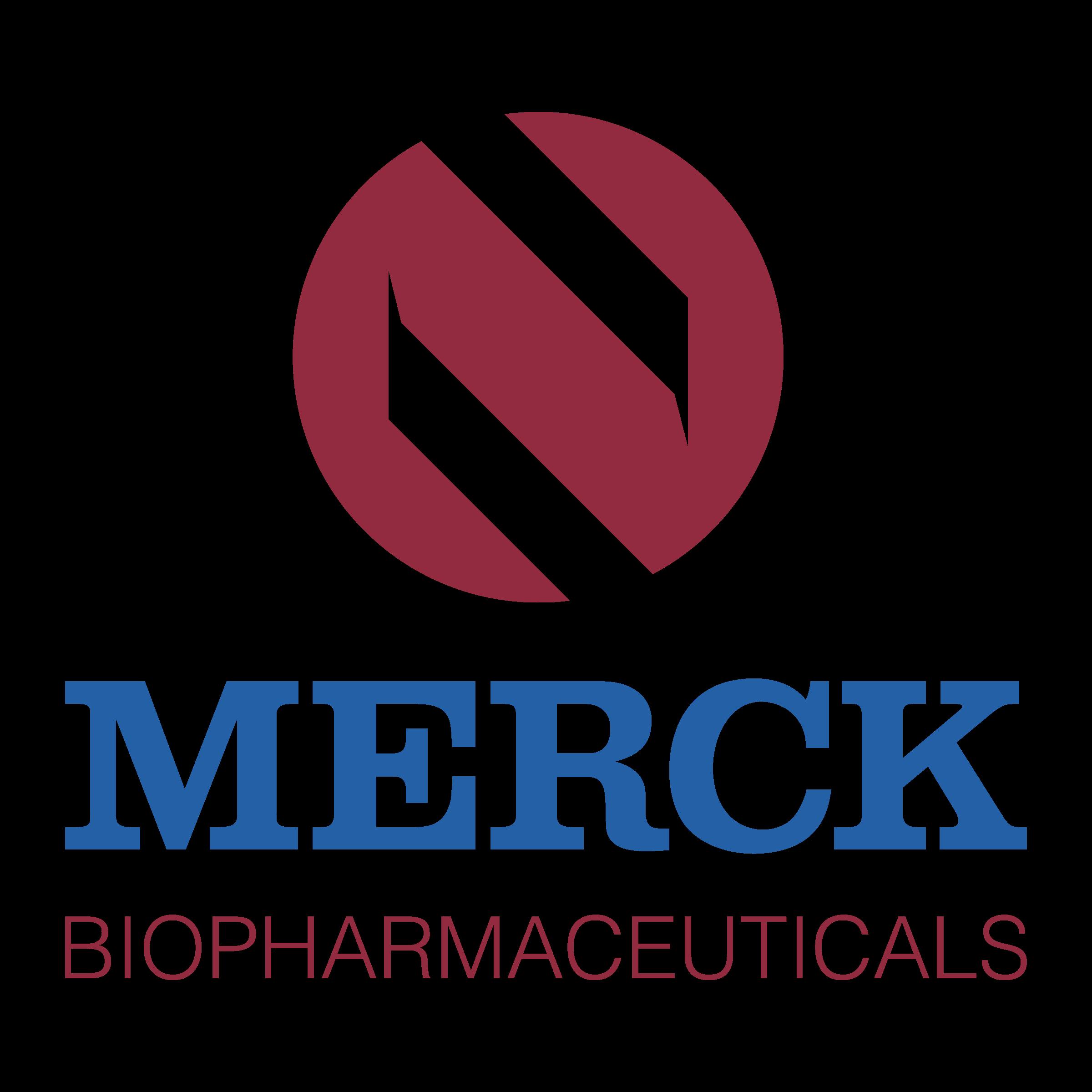 Merck Biopharmaceuticals Logo PNG Transparent & SVG Vector.