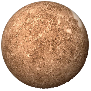 Planeta mercurio png » PNG Image.