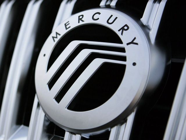 Mercury Car Logo.
