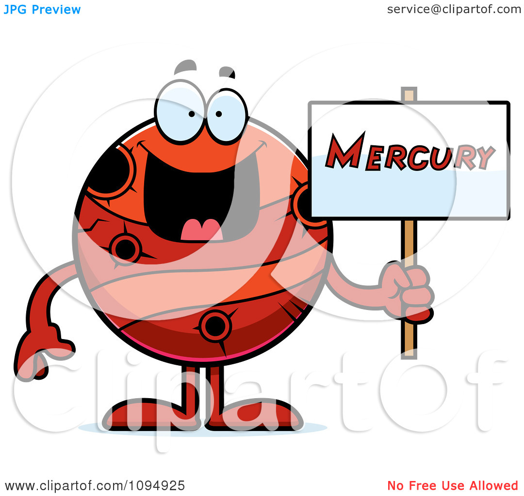 Mercury Clipart Page 1.