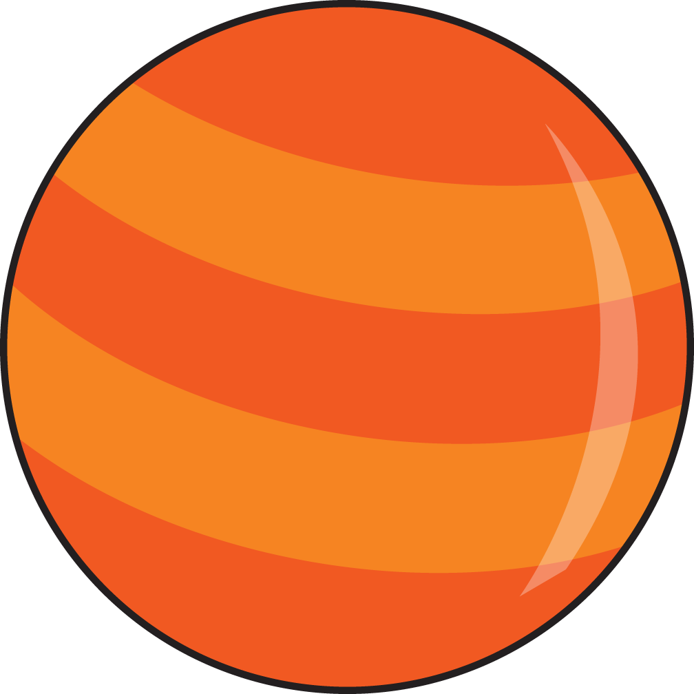 Planet Mercury Clipart.