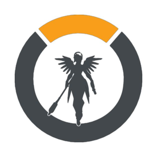 Check out this awesome \'Overwatch+Mercy+Logo\' design on.