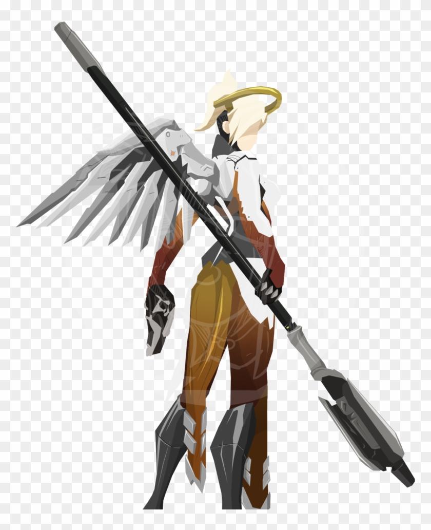 Mercy Overwatch Png.