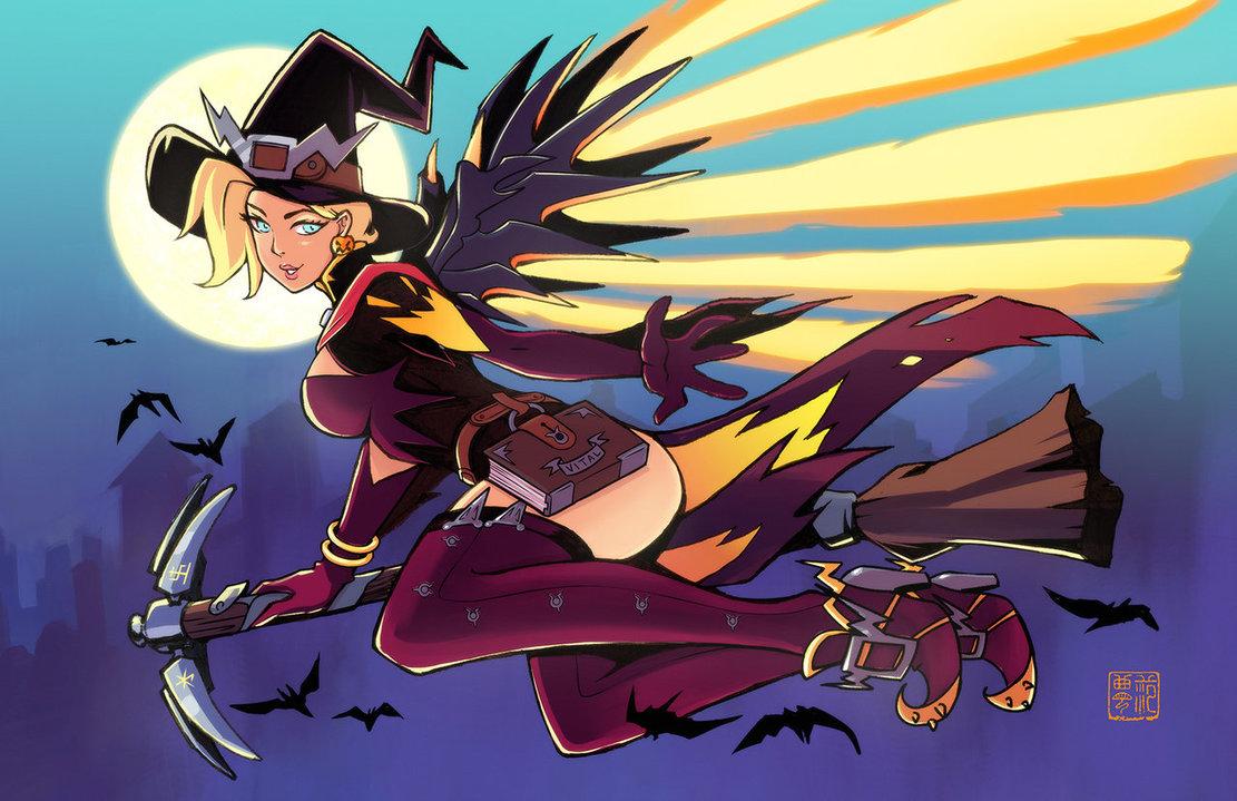 Witch Mercy by kawoninja on DeviantArt.