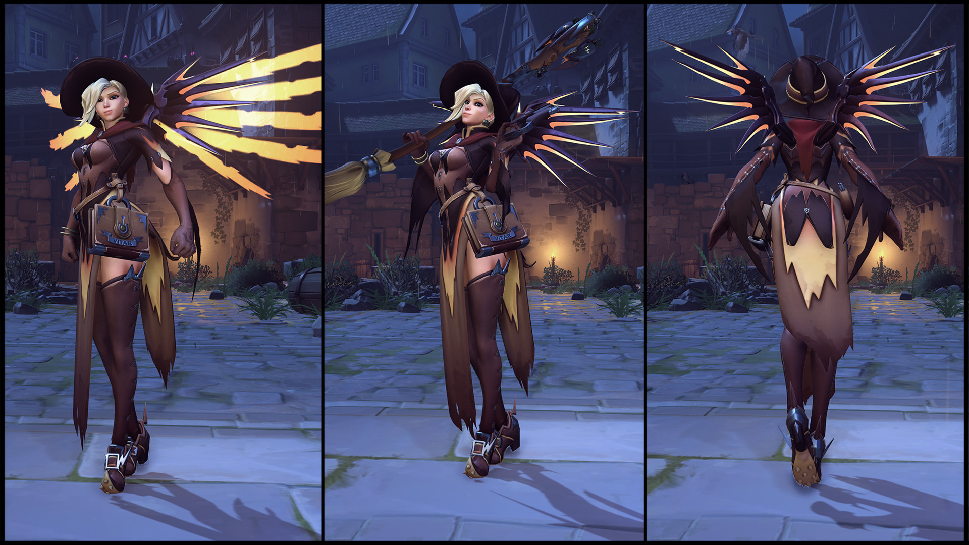 Mercy Witch Clipart.