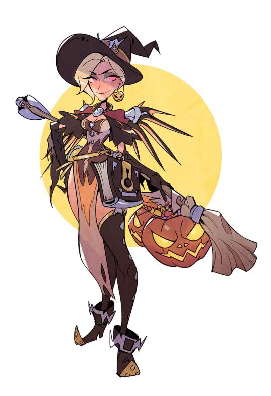 Witch Mercy.