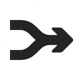 Download Free png Arrow Merge Icon.