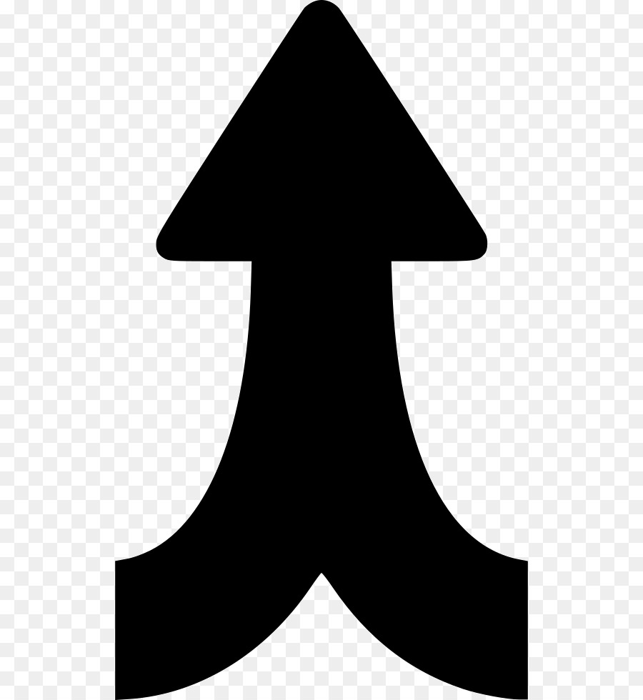 White Arrow Background png download.