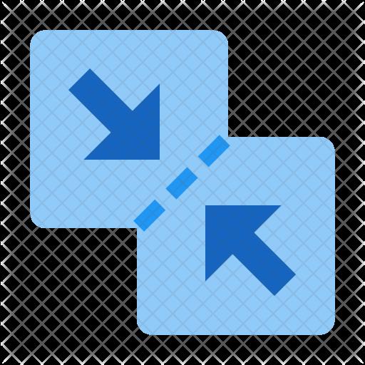 Merge files Icon.