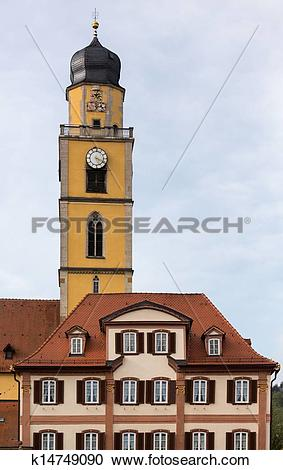 Stock Photography of Bad Mergentheim in Germany k14749090.