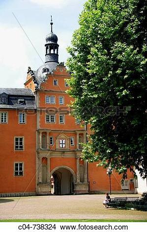 Stock Photo of Bad Mergentheim. Baden.