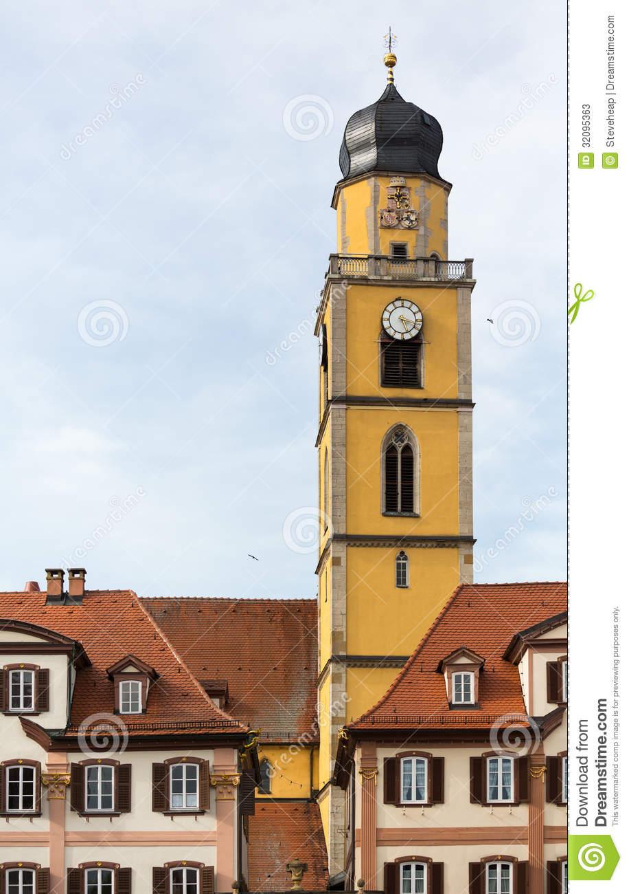 Bad Mergentheim In Germany Stock Photos.