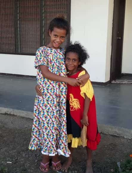Meri blouse' the traditional women dress in Papua New Guinea.