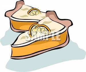 Lemon Meringue Pie Clip Art.