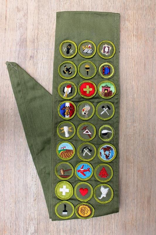 Merit Badge Sash Clip Art Clipground