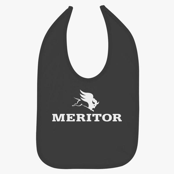 Meritor Logo Baby Bib.