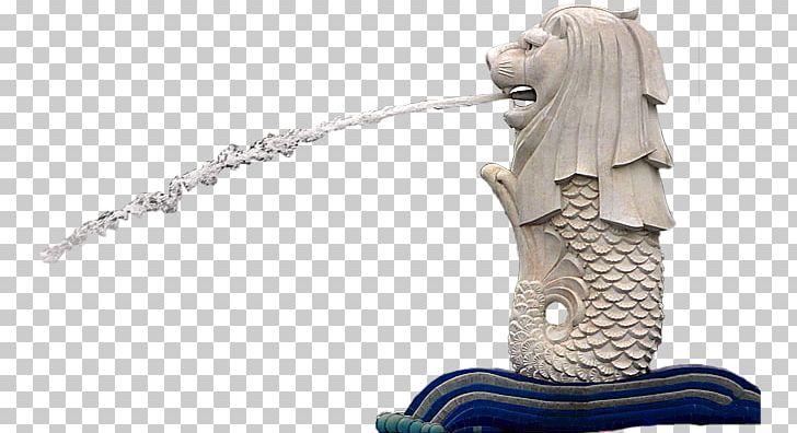 Merlion Lion Head Symbol Of Singapore Landmark Marina Bay.