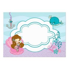 17 Best Mermaid Baby Shower Invitations images in 2013.