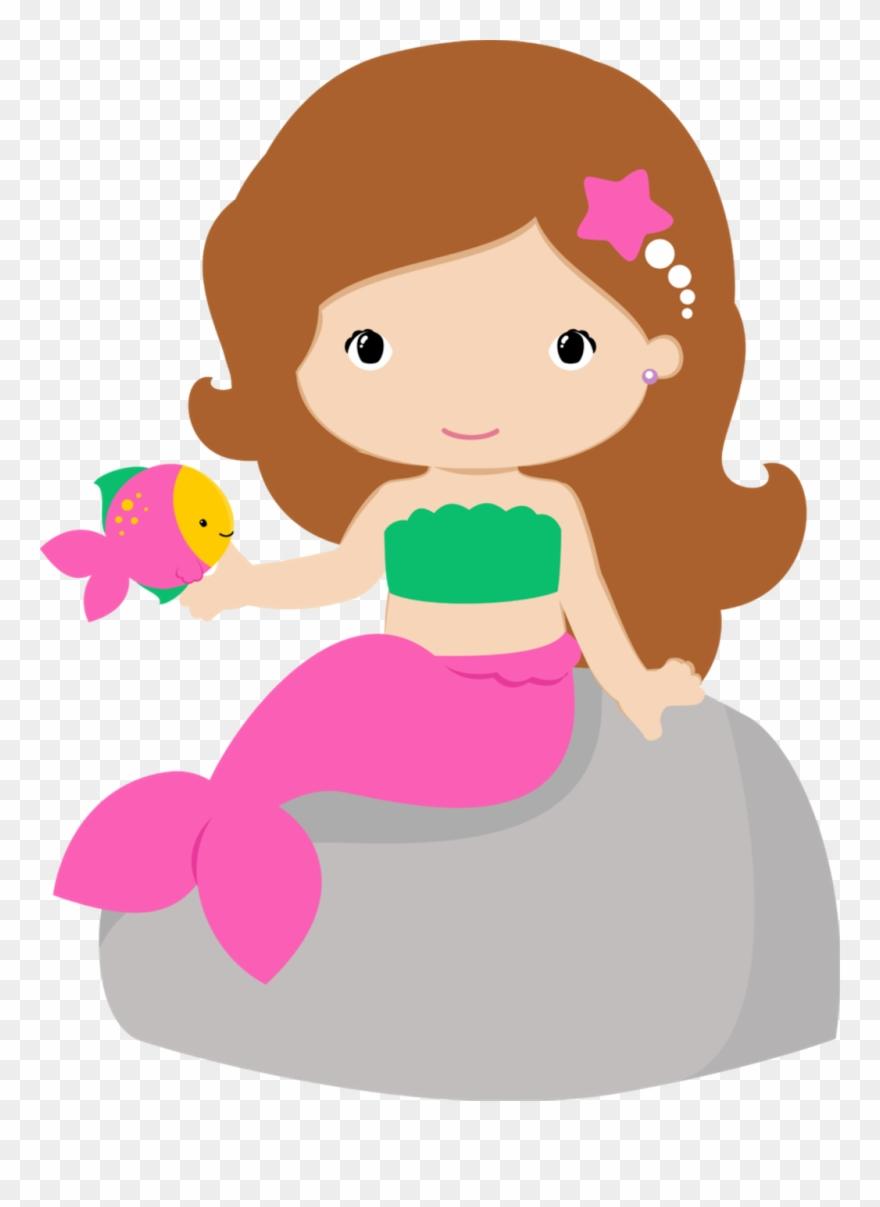 Mermaid Clipart, Little Mermaid Parties, The Little.