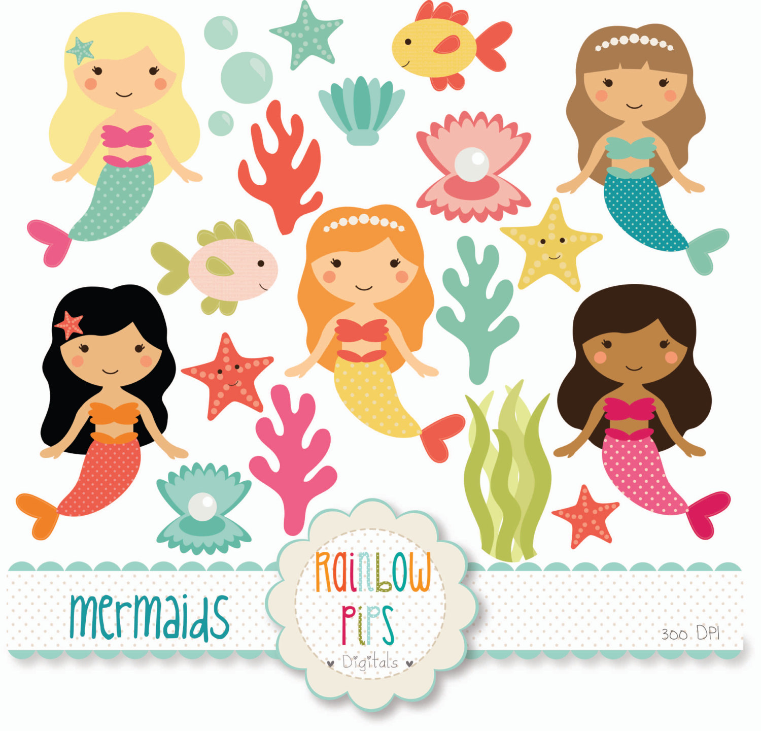 Free Mermaids Cliparts, Download Free Clip Art, Free Clip.