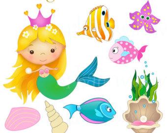 61+ Free Mermaid Clipart.