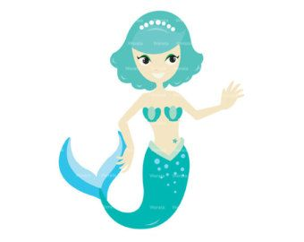 Mermaid Clip Art Free Download.