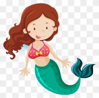 Free PNG Mermaid Kids Clip Art Download.