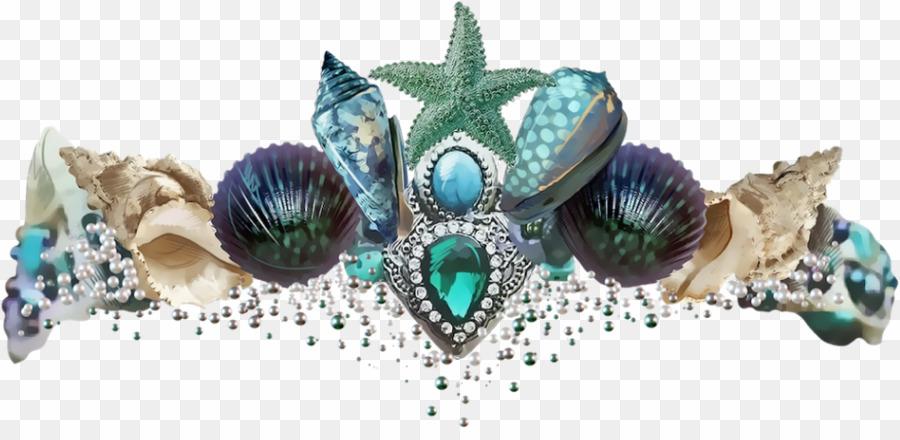 Mermaid Crown Clip Art PNG Ariel Mermaid Clipart download.