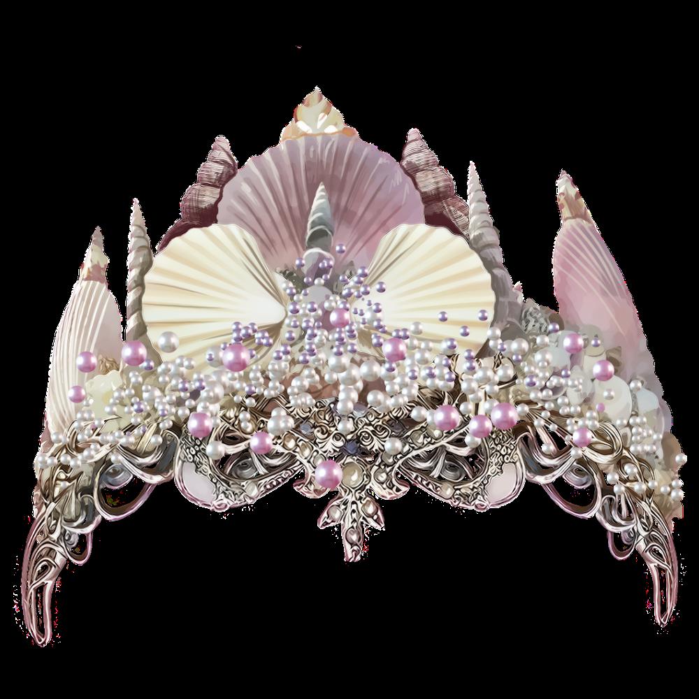 mermaid crown.