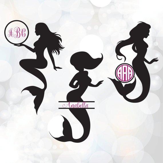 Mermaid SVG.