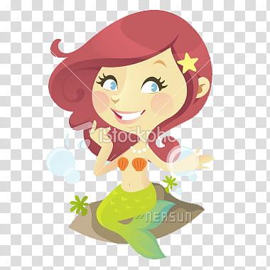 Munequitas, mermaid transparent background PNG clipart.