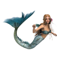 Download Mermaid Free PNG photo images and clipart.