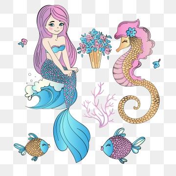 Mermaid PNG Images.