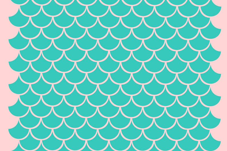 Mermaid scales svg.